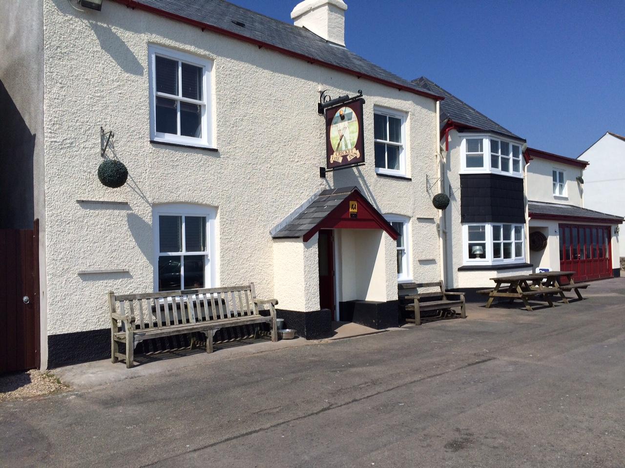 Cricket Inn named in best summer pubs