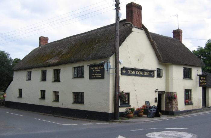 New Inn, Sampford Courtenay
