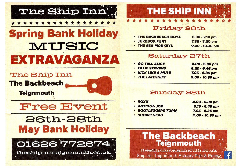 Ship Inn Music Festival