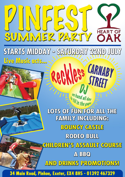 Heart of Oak Summer Party