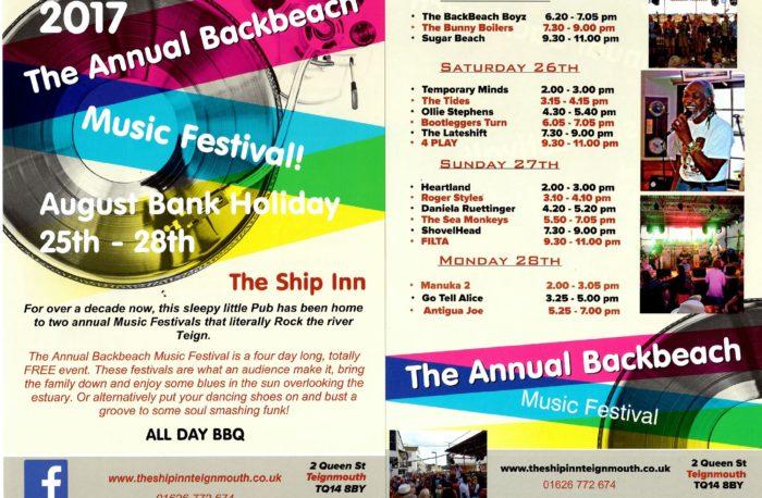 Music Festival - August 2017