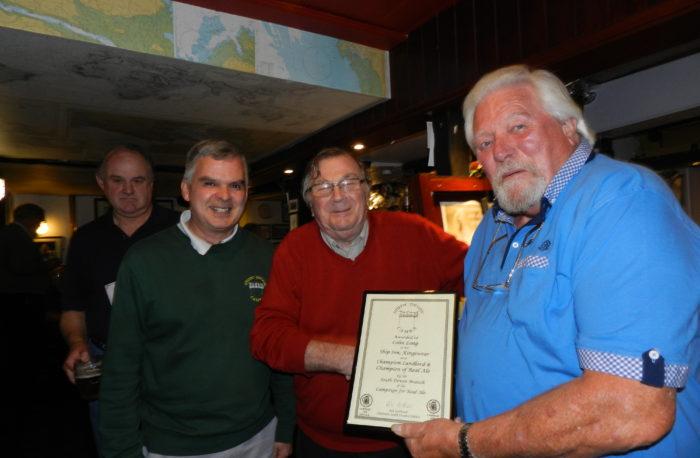 Ship Inn Landlord Wins CAMRA Award