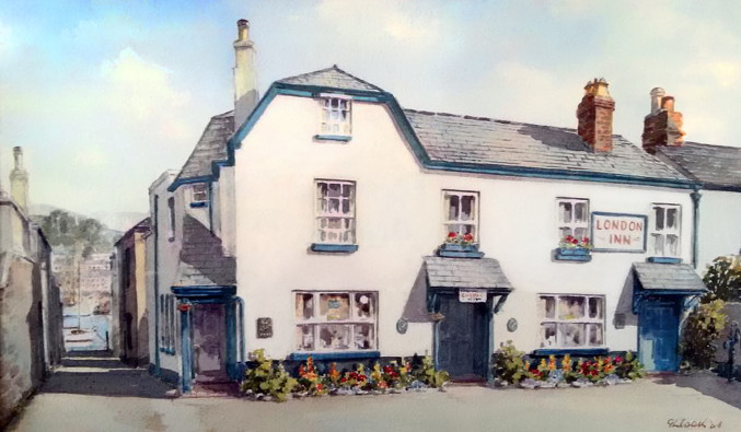 London Inn Painting