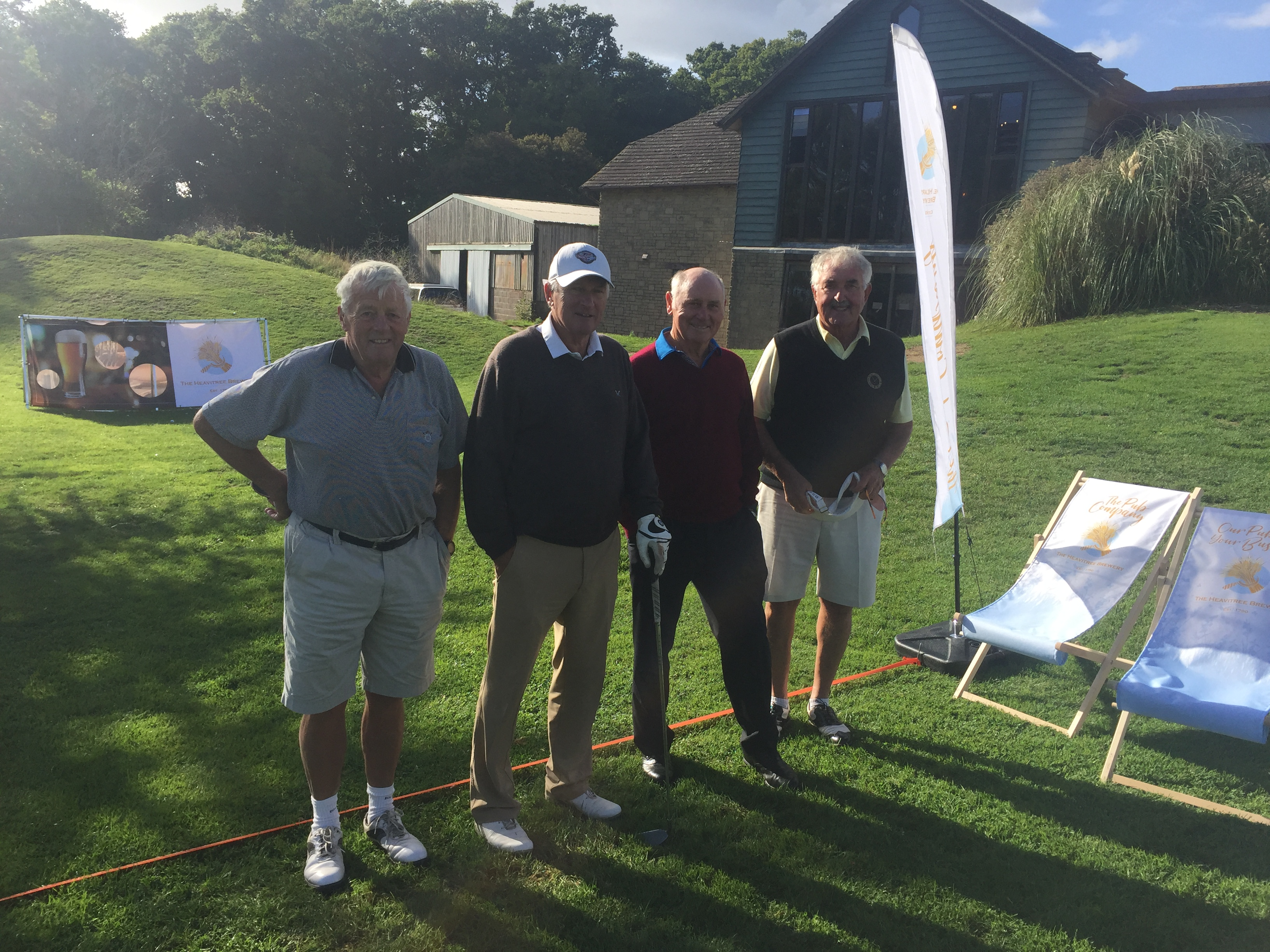 Brewery sponsor Bettesworths golf day