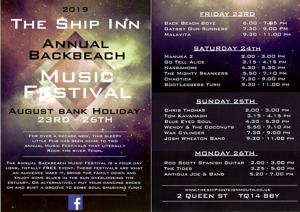 Ship Inn Bank Holiday Music Festival