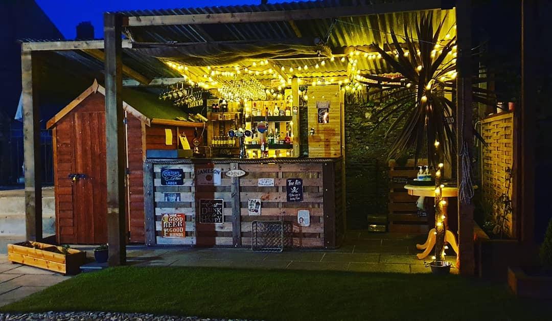 Green Dragon 2 - Outside Bar - April 2021