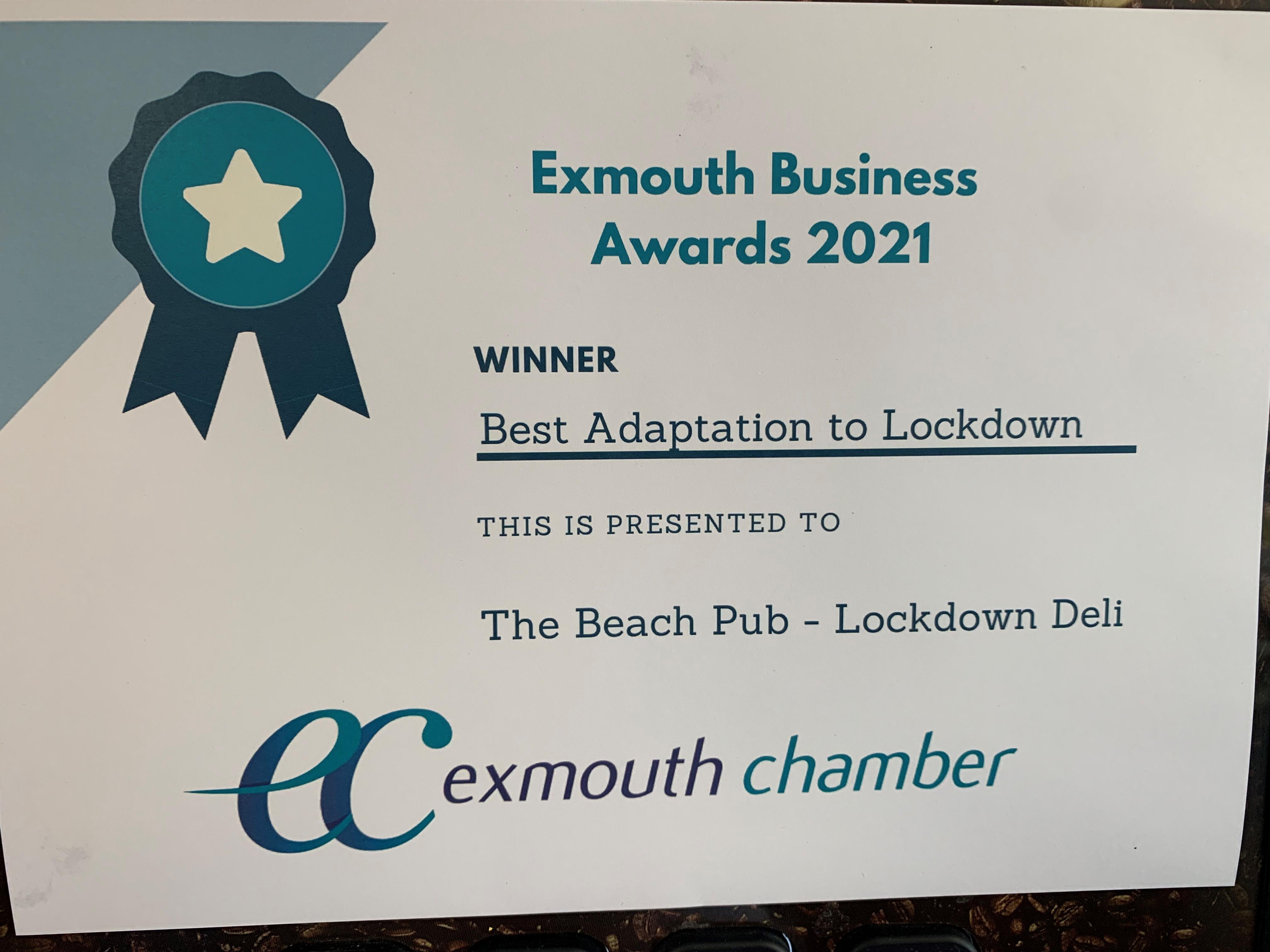 Exmouth Business Awards 2